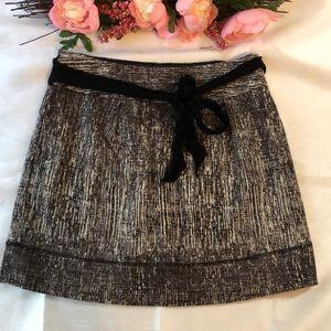 Club Monaco Marled Mini Skirt